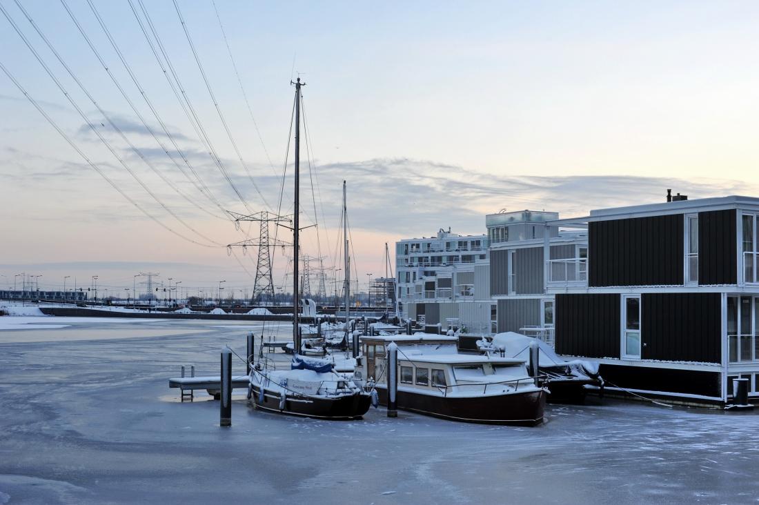 オランダの水上建築技術がビジネスを加速させる