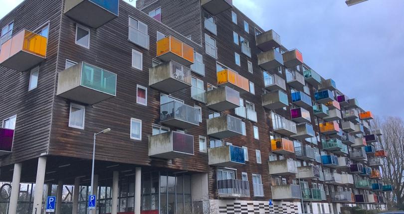 オランダ現代建築探訪 建築家集団MVRDVの「WoZoCo(オクラホマ)」